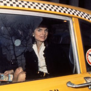 Harry Benson, Jackie Kennedy in Taxi, NY