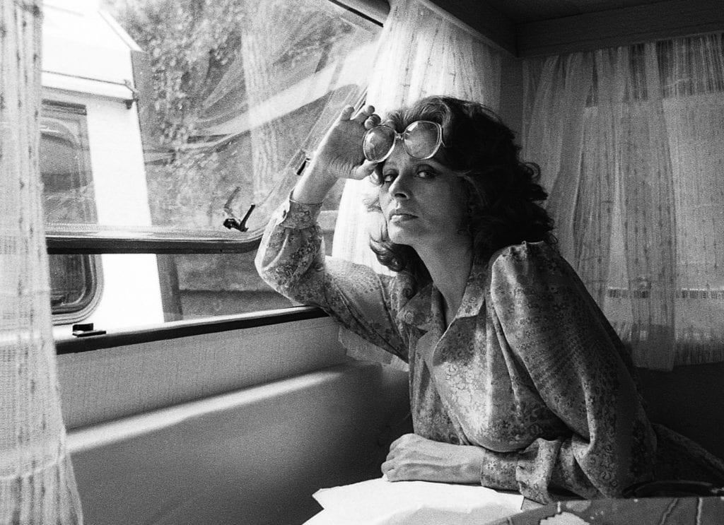 Harry Benson, Sophia Loren, Rome