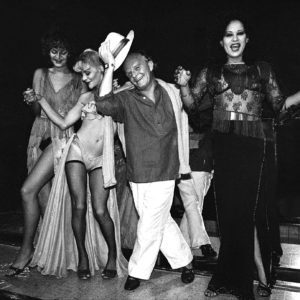 Harry Benson, Truman Capote on Stage No. 3 Dancers