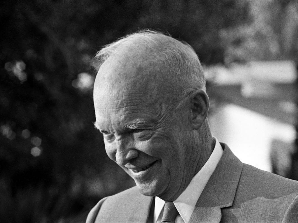 Harry Benson, President Eisenhower