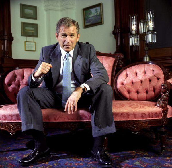 Harry Benson, President George W. Bush