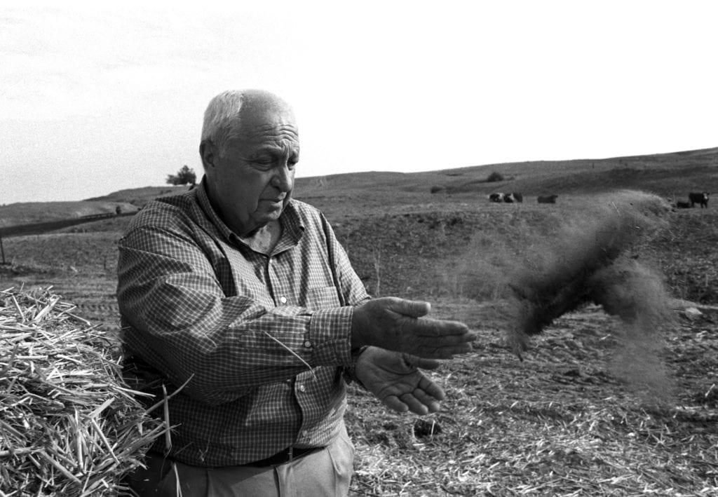 Harry Benson, Ariel Sharon