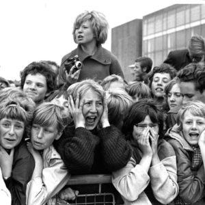 Harry Benson, Fans Screaming, Copenhagen