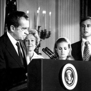 Harry Benson, Nixon Resigns - 1974