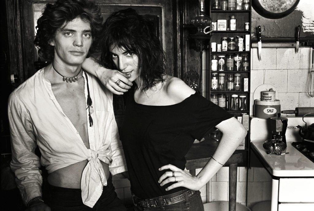 Norman Seeff, Robert Mapplethorpe & Patti Smith, New York 1969