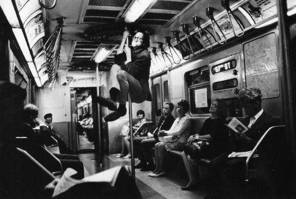 Harry Benson, R. Crumb, NY Subway