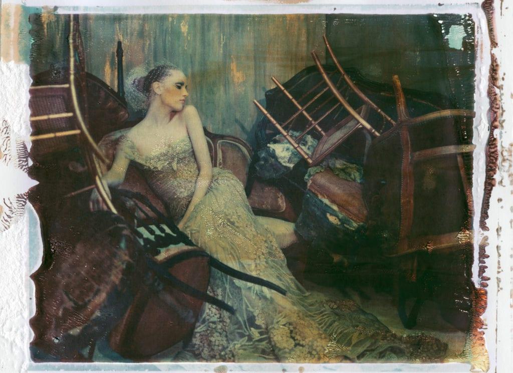 Cathleen Naundorf, Sweet Sleep, Paris, Elie Saab