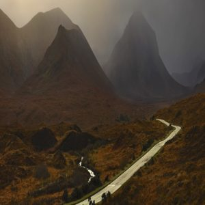 Albert Watson, Red Cuillins Road, Isle of Skye, Scotland