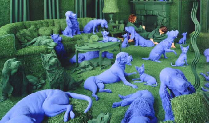 Sandy Skoglund, The Living Room