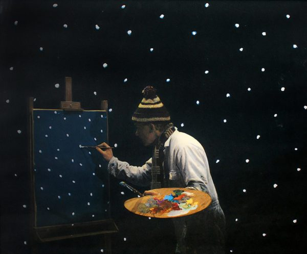 Teun Hocks, Untitled (Painting Snowflakes)