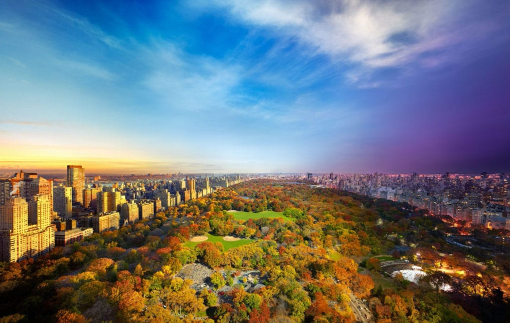 Stephen Wilkes, Central Park from Essex House