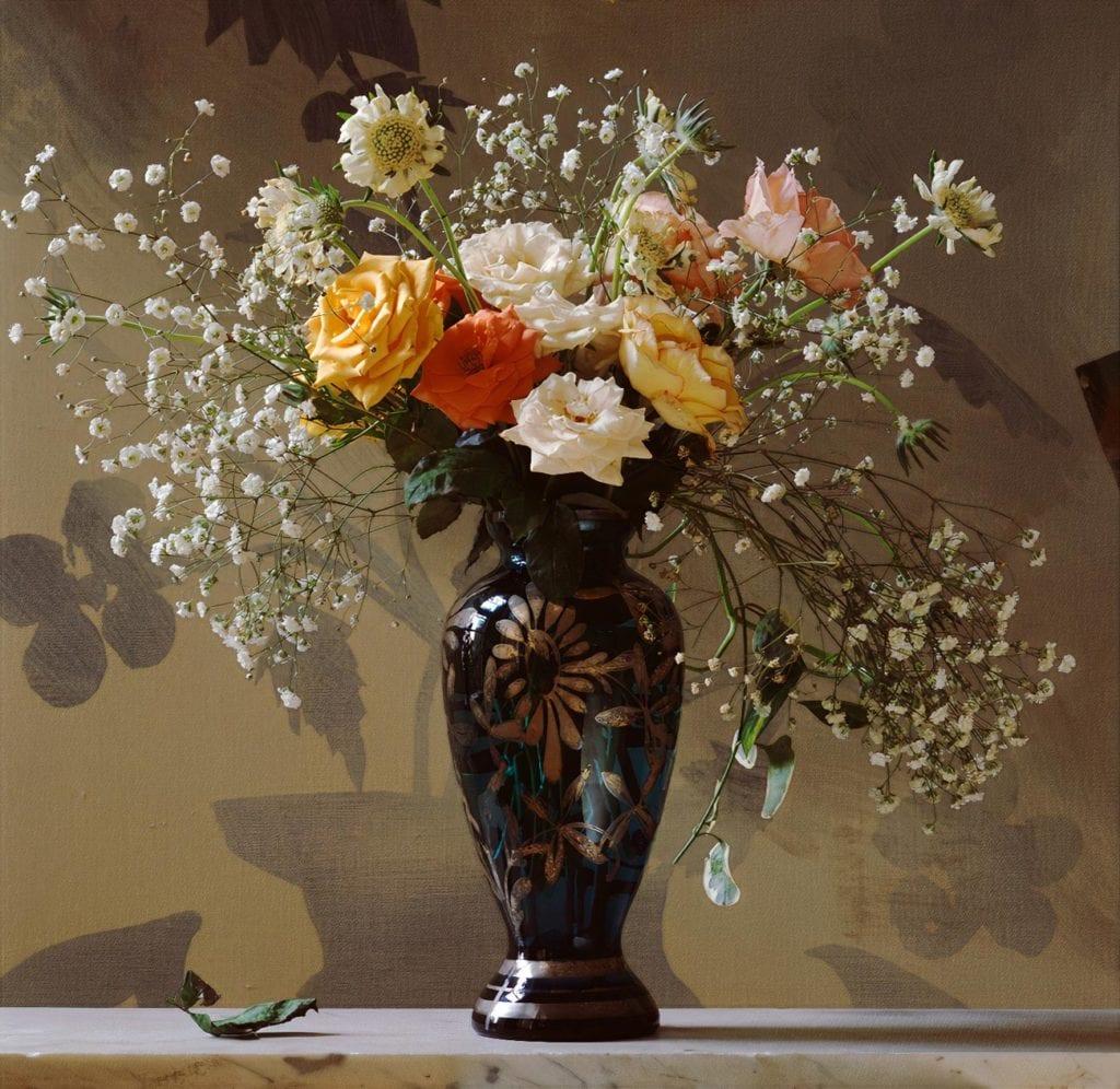 Ben Schonzeit, Silver Blue Vase
