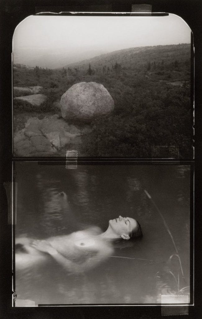 Vincent Serbin, Lady in the lake stone scape (No. 6)