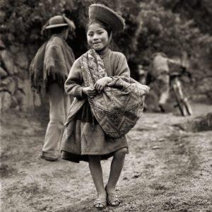Dana Gluckstein, Quechua Girl, Peru