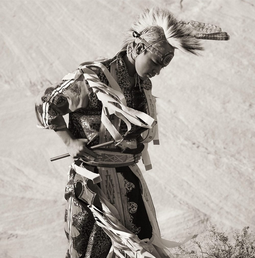 Dana Gluckstein, Dancer, Navajo Nation, Arizona