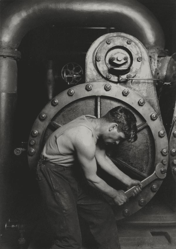 Lewis Hine, Powerhouse Mechanic