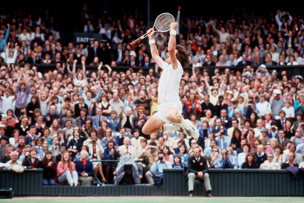 Walter Iooss, Jimmy Connors