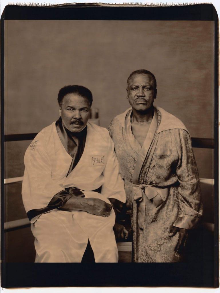 Walter Iooss, Muhammad Ali & Joe Frazier, 2003