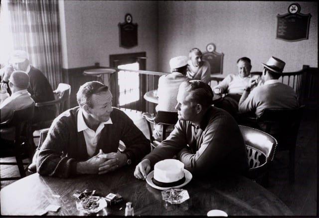 Walter Iooss, Arnold Palmer and Jack Nicklaus, Ligonier, Pennsylvania, 1965