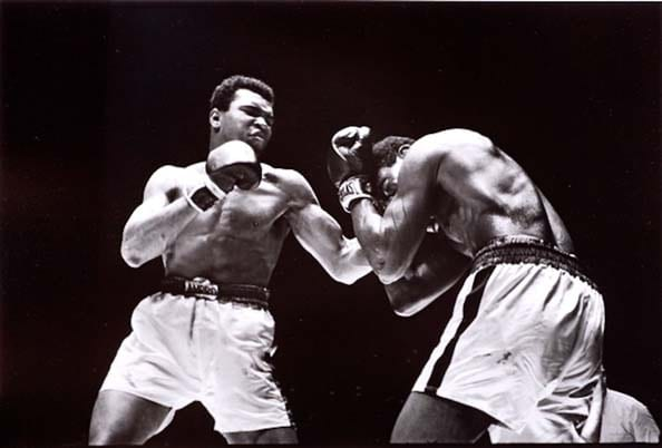 Walter Iooss, Ali vs. Ernie Terrell at the Houston Astrodome, February, 1967