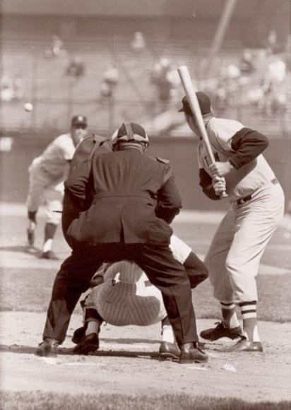 Walter Iooss, Ted Williams, Yankee Stadium, 1966