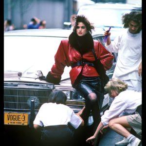 Harry Benson, Cindy Crawford, New York