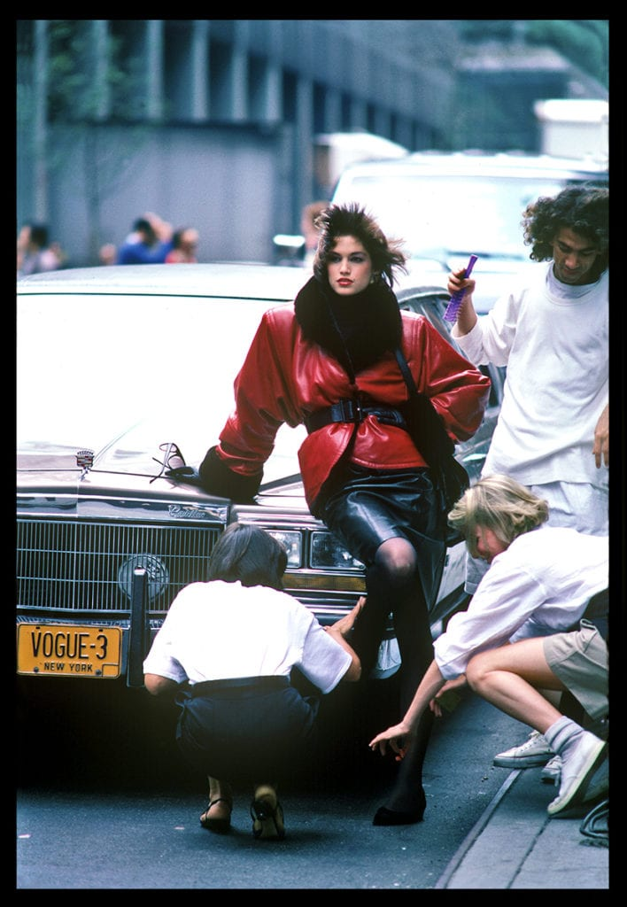Harry Benson, Cindy Crawford, New York