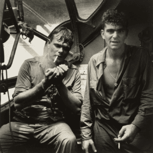 Horace Bristol, Rescued Airman Smoking aboard PBY, Rabaul