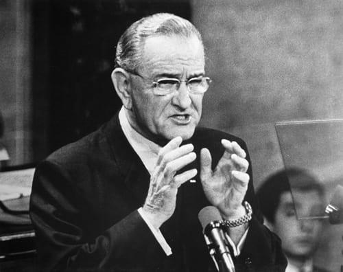 Stan Stearns, President Lyndon B. Johnson - State of The Union Address