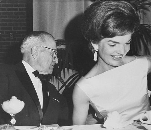 Stan Stearns, Former President Harry S. Truman with First Lady, Jacqueline Kennedy