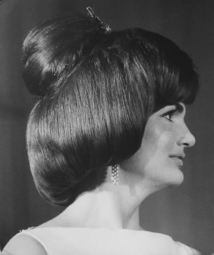 Stan Stearns, Jacqueline Kennedy displays a new hairdo