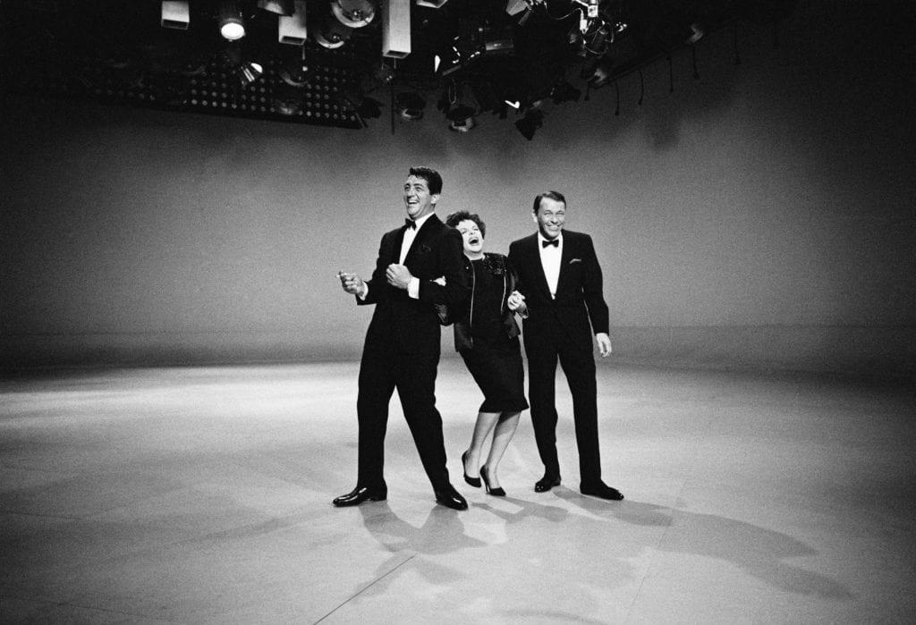 Douglas Kirkland, Dean Martin, Judy Garland, Frank Sinatra, 1961