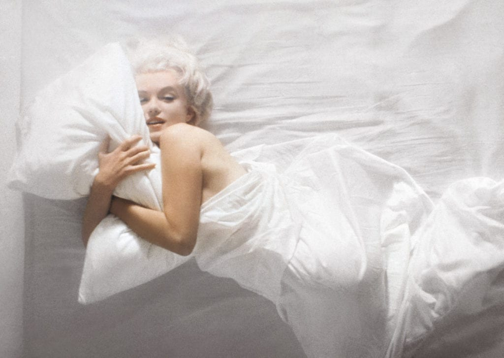 Douglas Kirkland, Marilyn Monroe (horizontal), 1961