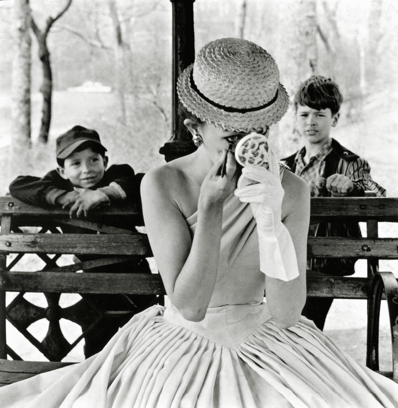 Frank Paulin, Model, Central Park