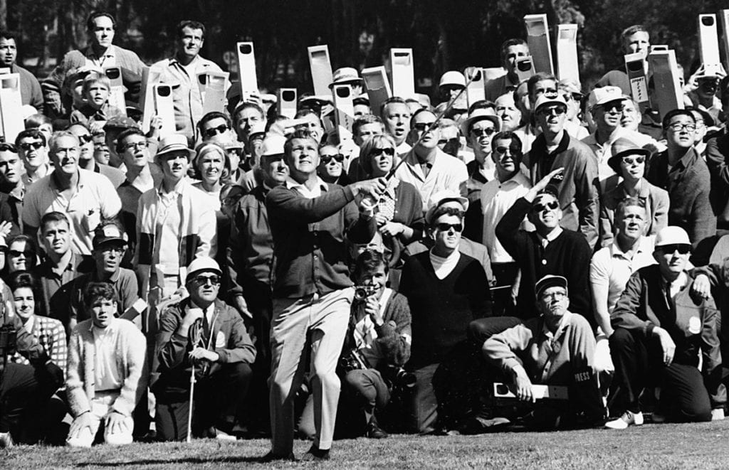 Neil Leifer, Arnold Palmer, 1966 US Open - Final Round