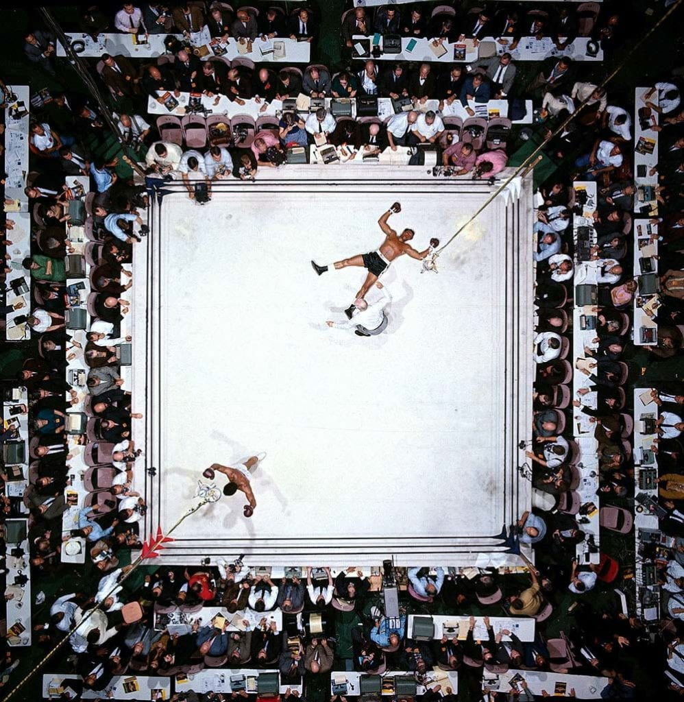 Neil Leifer Muhammad Ali vs Cleveland Williams, 1966 World Heavyweight Title