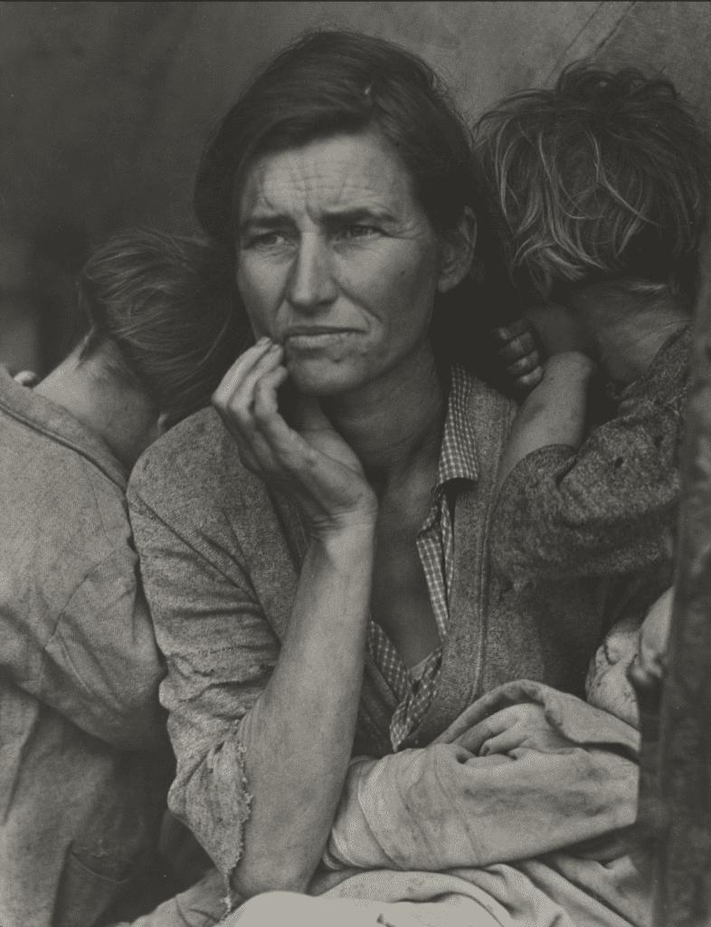 Dorothea Lange,Migrant Mother, Nipomo, California