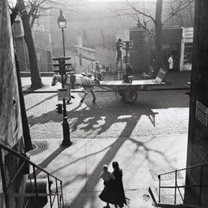 Willy Ronis, Avenue Simon Bolivar, Paris
