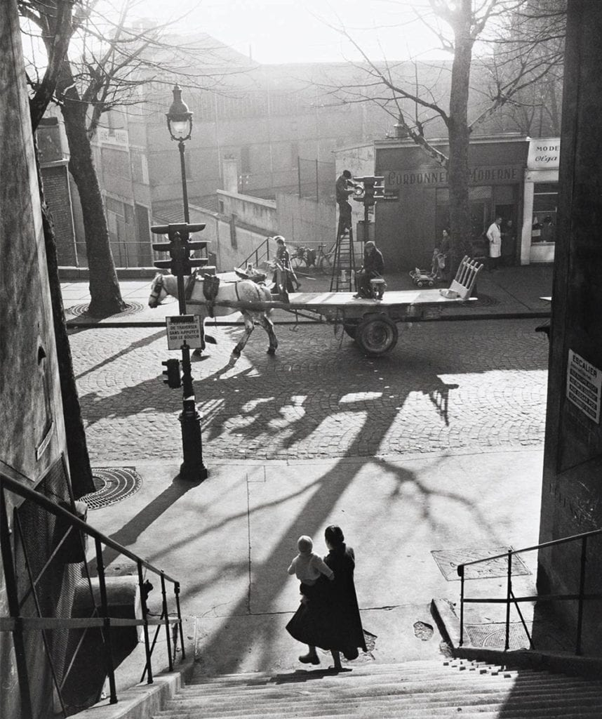 Willy Ronis, Avenue Simon Bolivar, Paris