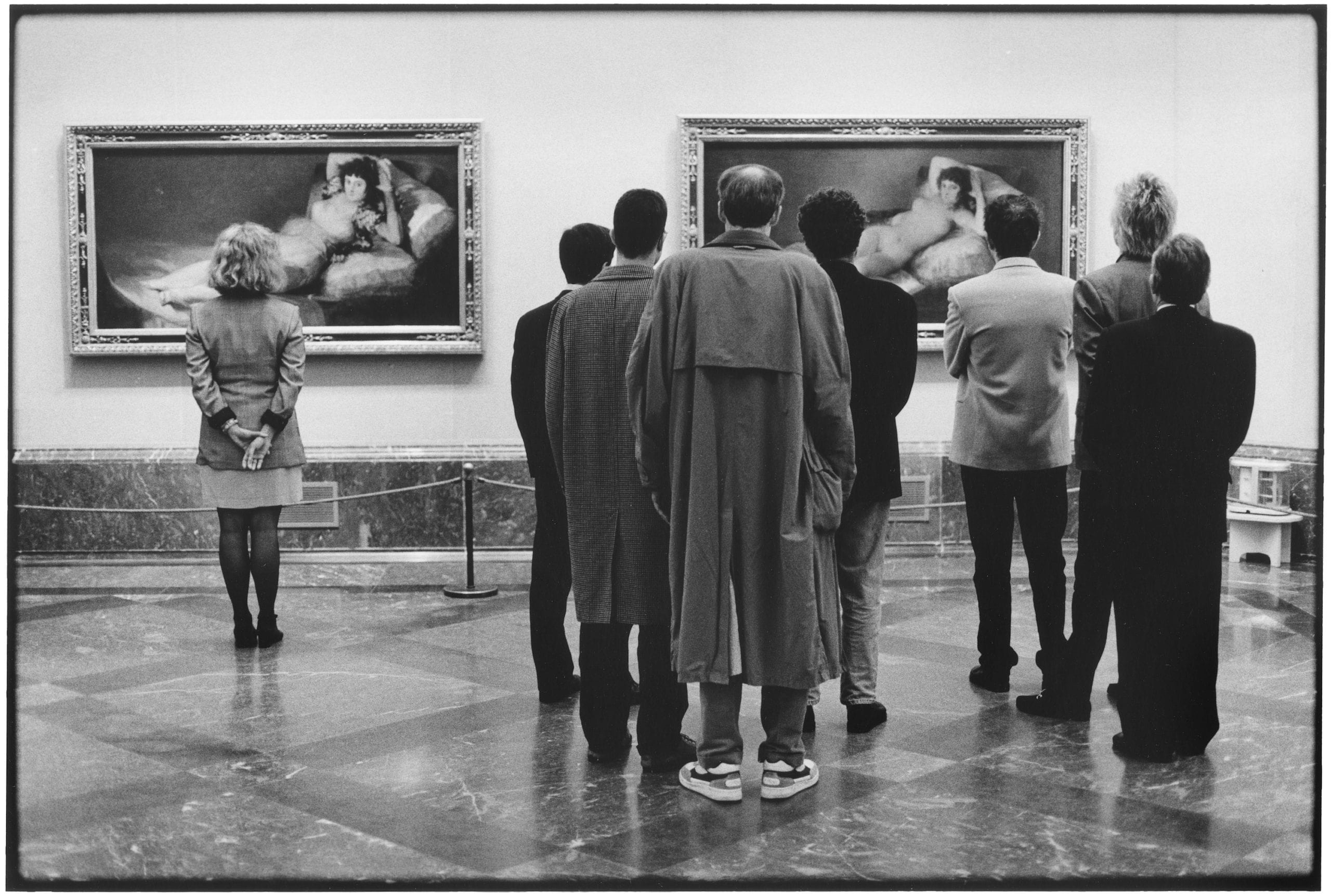 Elliott Erwitt, Madrid, 1995, Prado Museum