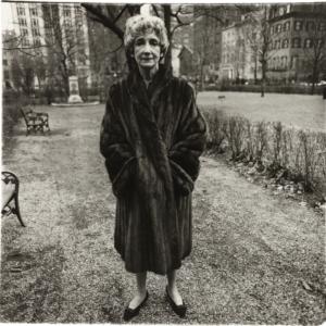 Diane Arbus, Mildred Dunnock, N.Y.C