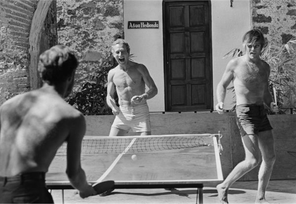 Lawrence Schiller, Paul Newman and Robert Redford