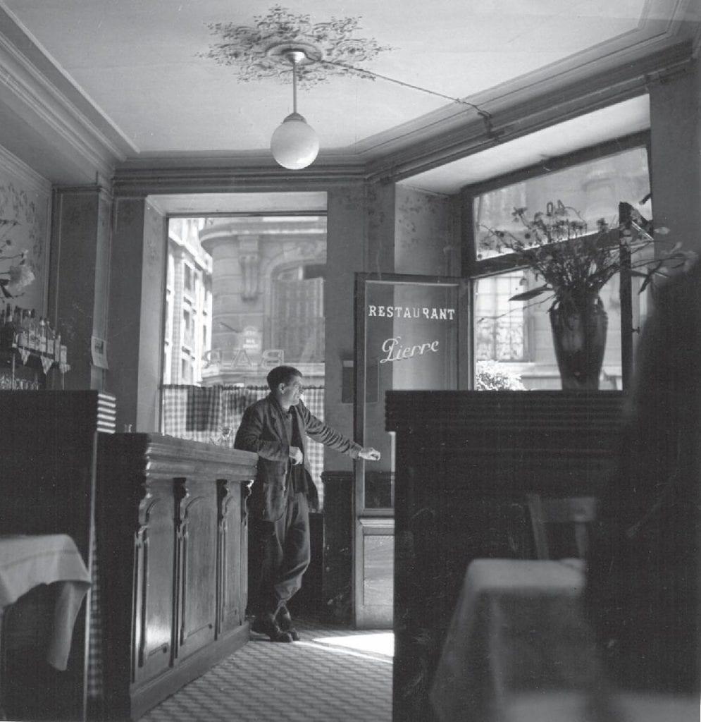 Louis Stettner, Restaurant Pierre