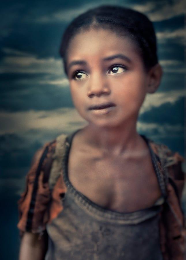 William Ropp, Young Girl, Ethiopia