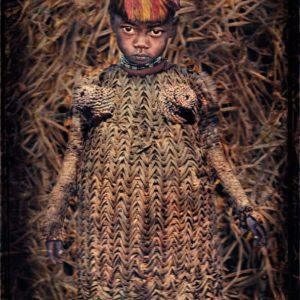 William Ropp, Young Girl in her Straw Dress, Turkana Lake, Kenya