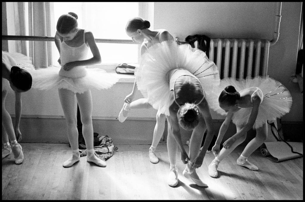 Arthur Elgort, Getting Ready, Vaganova Ballet Academy, St. Petersburg, Russia