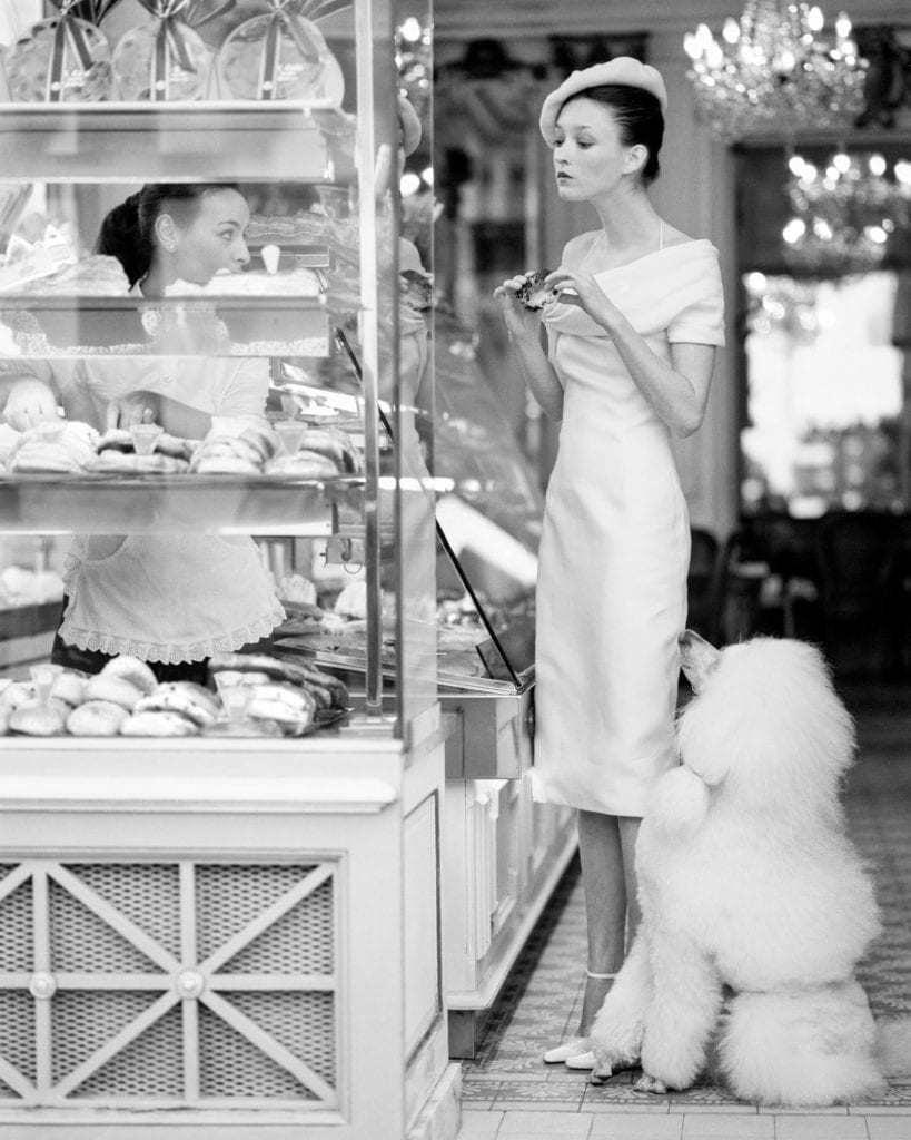 Arthur Elgort, Audrey Marnay in Paris, Vogue, 1999