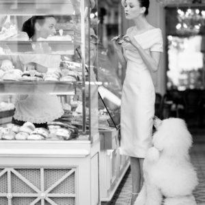 Arthur Elgort, Audrey Marnay in Paris, Vogue, 1999