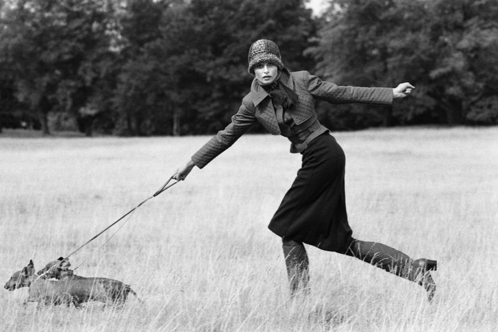 Arthur Elgort, Apollonia, British Vogue, 1971