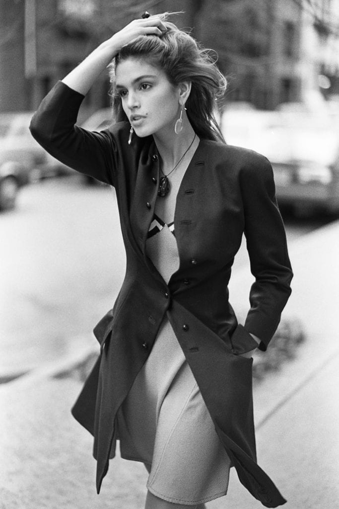 Arthur Elgort, Cindy Crawford, New York City, Vogue, 1987